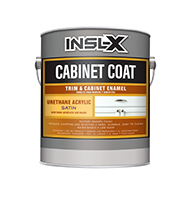 "Paint Garden Cabinet Coat is the ultimate finish for refurbishing kitchen and bathroom cabinets, shelving, furniture, trim, and crown molding. Delivers an ultra-smooth, factory-like finish with long-lasting beauty. Adheres to ""hard-to-stick"" surfaces, including polyurethane and varnish, without a primer.  Ultra-smooth finish Urethane-acrylic formula Refurbishes worn cabinets Covers hard-to-coat surfaces without a primer"