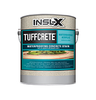 GUTHRIE PAINT TuffCrete Waterborne Acrylic Waterproofing Concrete Stain is a water-reduced acrylic concrete coating designed for application to interior or exterior masonry surfaces. It may be applied in one coat, as a stain, or in two coats for an opaque finish.  Waterborne acrylic formula Color fade resistant Fast drying Rugged, durable finish Resists detergents, oils, grease &scrubbing For interior or exterior masonry surfacesboom