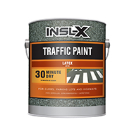 Alamo Paint & Decorating® Latex Traffic Paint is a fast-drying, exterior/interior acrylic latex line marking paint. It can be applied with a brush, roller, or hand or automatic line markers.  Acrylic latex traffic paint Fast Dry Exterior/interior use OTC compliant