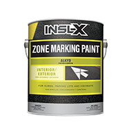 PAINTSTOP LLC Alkyd Zone Marking Paint is a fast-drying, exterior/interior zone-marking paint designed for use on concrete and asphalt surfaces. It resists abrasion, oils, grease, gasoline, and severe weather.  Alkyd zone marking paint For exterior use Designed for use on concrete or asphalt Resists abrasion, oils, grease, gasoline & severe weatherboom