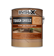 Augusta Paint & Decorating Tough Shield Floor and Patio Coating is a waterborne, acrylic enamel designed to produce a rugged, durable finish with good abrasion resistance. For use on interior and exterior floors and patios and a variety of other substrates.  Outstanding durability 100% acrylic enamel formula Good abrasion resistance Excellent wearing qualities For interior or exterior useboom